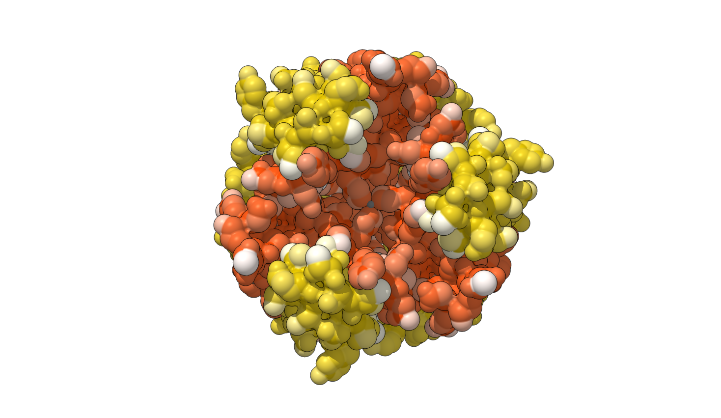 human insulin hexamer