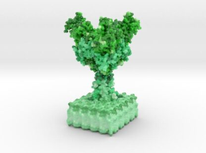 Ebola Virus Ectodomain 3d printed